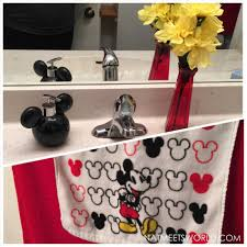 Mickey Bathroom Accessories bathroom bathroom target cabinet creative cabinets decoration