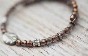 blessed bracelet prasada jewelry blessed bracelet with glass