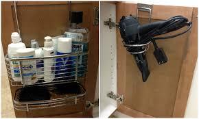 bathroom interesting design of under sink organizer for bathroom