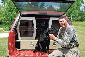 Truck Bed Dog Kennel Traveling With Hunting Dogs Wildfowl