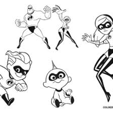 disney coloring pages incredibles archives mente beta