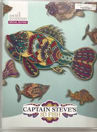 goodesign special edition captain steves 3d fish 79673010982