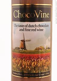 chocolate wine chocovine cabernet chocolate liqueur netherlands prices