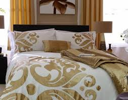 bedding set white and gold bedding beautiful black white and