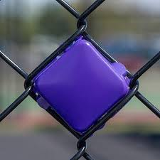 Fence Decorations Purple Put In Cups Fence Decorations Spiritline