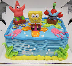 spongebob squarepants cake spongebob cake decorations walmart spongebob cake decorations