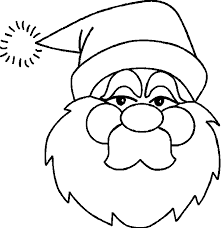 santa coloring pages 2 coloring kids
