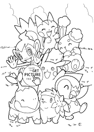 coloring pages of pokemon characters jigglypuff pokemon black