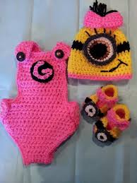 Baby Minion Costume Crochet Pattern For Baby Monster Pants Squareone For