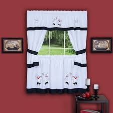 Jcpenney Bathroom Curtains Blackout Black Kitchen Curtains For Window Jcpenney