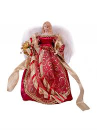 christmas christmas angel fairy tree topper or16 inch gold