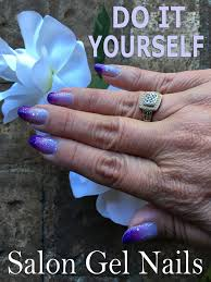 it yourself salon gel nails at home