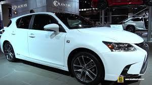 lexus ct200h exhaust system 2015 lexus ct200h f sport hybrid exterior and interior