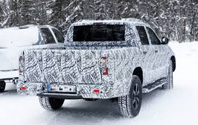 mercedes truck 2018 mercedes x class truck prototype shows production lights has