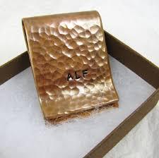 7th anniversary gift copper money clip personalized money clip groomsmen gift