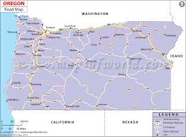map of oregon freeways oregon road map road map of oregon oregon highway map