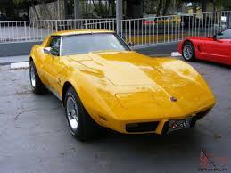 1976 corvette yellow 1976 corvette stingray t top only corvette 1976