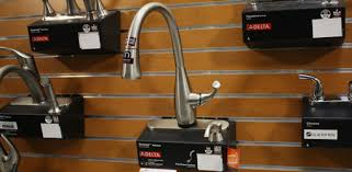home depot moen kitchen faucets delta dominic kitchen faucet with touch2o and spotshield