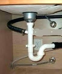 under kitchen sink drain plumbing dishwasher sink drain drain pipe kitchen sink kitchen sink drain