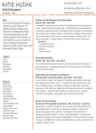 ui designer resume ux designer resume pdf fresh web designer resume exle web