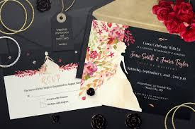 Invitations And Rsvp Cards Wedding Invitation And Rsvp Invitation Templates Creative Market