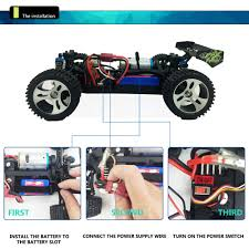 monster jam radio control trucks wltoys a979b upgraded 70km h 1 18 4wd 2 4g off road rc monster
