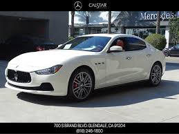 chrome maserati pre owned 2017 maserati ghibli s 4dr car in glendale 18m211a