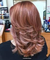 medium length flipped up hairstyles 70 brightest medium length layered haircuts and hairstyles