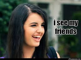 Rebecca Black Friday Meme - i see my friends mindskin funny pictures and junk
