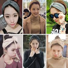 korean headband candy online korean headband elastic turban wrap knotted hair
