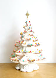 ceramic christmas tree light kit ceramic christmas tree lights and star vintage kit white trees for