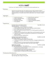 sample resume for customer service associate customer service