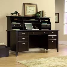 computer desk with hutch and file cabinet office furniture mission