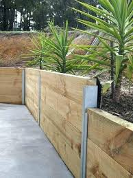 Garden Walls Ideas Inexpensive Retaining Wall Ideas Expatworld Club