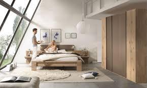 Schlafzimmer Thielemeyer Schlafzimmer Set Mit Bett 180 X 200 Cm Wildeiche Teilmassiv