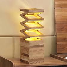 Best Inexpensive Desk Lamp Polygon Table Lamp Modern Art Creative Brief China Ash Wood Desk