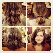 ponytail haircut technique bob ponytail hairstyle how to hair girl ombre technique on a bob