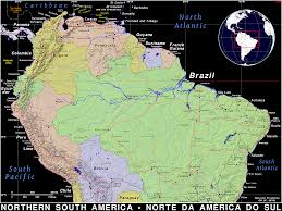 Maps Of South America Northern South America Public Domain Maps By Pat The Free Open