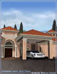 home entrance decor dream home entrance lanai and mud room decor eclectic 3d models