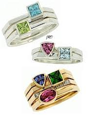 stackable birthstone rings stacking birthstone rings favoritejewelry