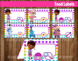 doc mcstuffins party etsy