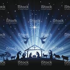 holy night scene stock vector art 451261645 istock