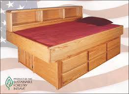 Water Bed Frames Waterbed Oak Youth Bed With 6 Drawer Ped Ss Single