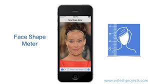 what is my face shape quick test of face shape meter app youtube