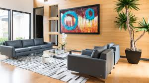 Living Room With No Coffee Table by A Texas Contemporary Cantoni Dallas
