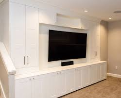 Built In Cabinets Wall Units Outstanding Media Room Built In Cabinets Media 1
