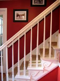 bright red paint for walls the red chair blog a diy staircase story