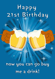 free printable 21st birthday greeting card greeting cards