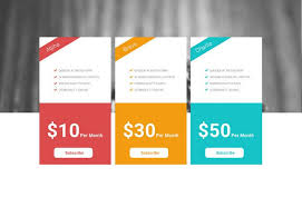 price plan design 35 free creative pricing plan table psd template