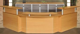 Yellow Reception Desk Custom Reception Desk